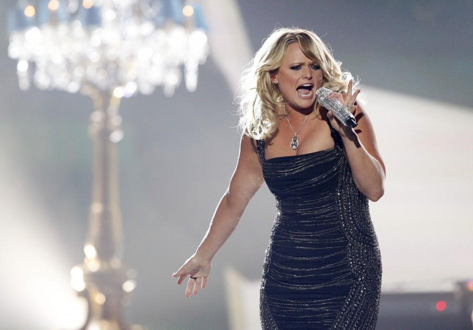 Miranda Lambert performs Mamas Broken Heart during the 48th ACM Awards in Las Vegas April 7, 2013.