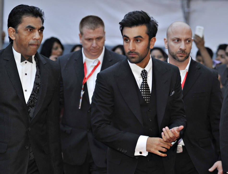 Actor Ranbir Kapoor C arrives for the inaugural Times of India Film Awards in Vancouver, British Columbia April 6, 2013.