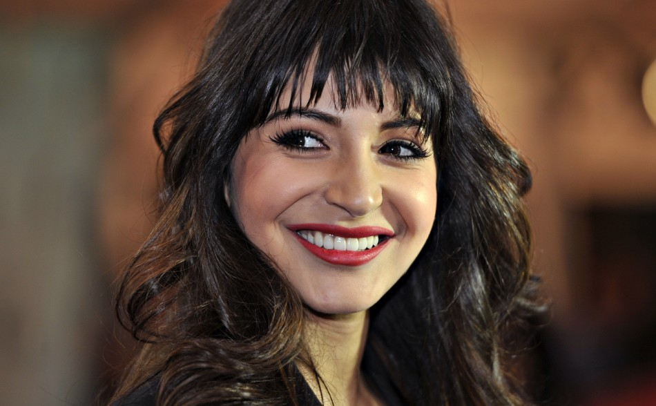 Actress Anushka Sharma arrives for the inaugural Times of India Film Awards in Vancouver, British Columbia April 6, 2013.