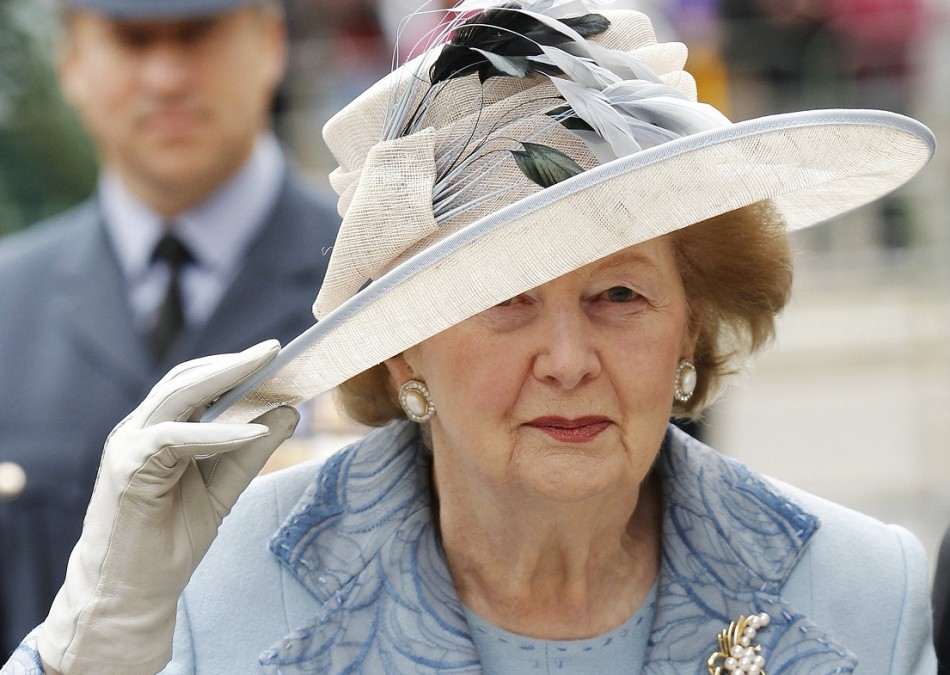 Baroness Thatcher, who has died