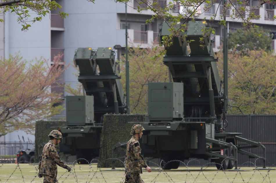 Japan deploys interceptors amid North Korean tensions
