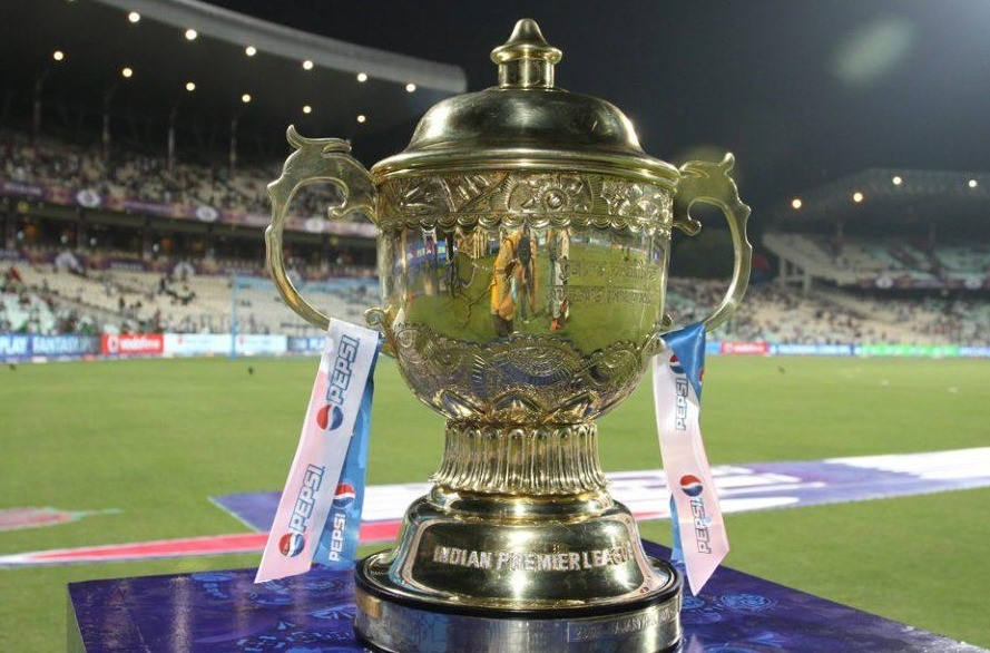 The IPL trophy
