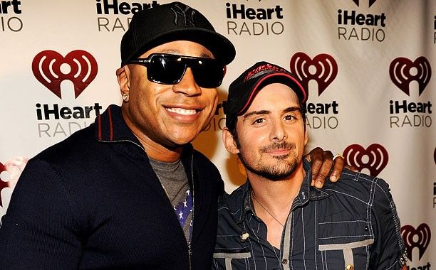 Country star Brad Paisley and rapper LL Cool J