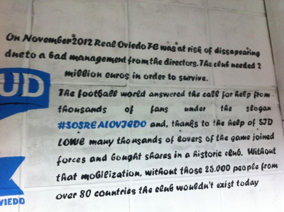 Oviedo message