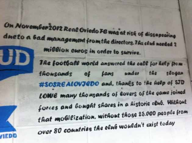 Oviedo message