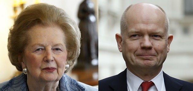 William Hague defends the move to fund Margaret thatcher's funeral with taxpayer's money (Reuters)