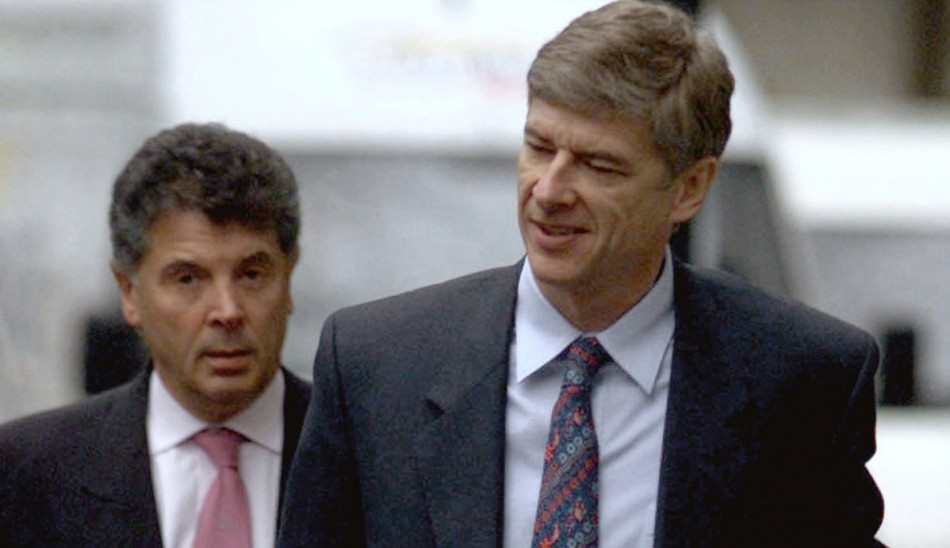 David Dein and Arsene Wenger