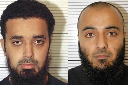 Bahader Ali (left) and Mohammed Rizwan