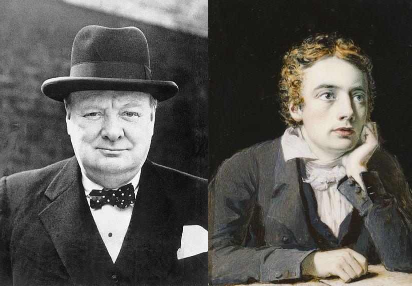 Churchill and Keats