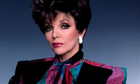 Joan Collins: Power dressing's high point