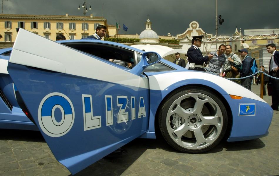 Italian Police Lamborghini #1