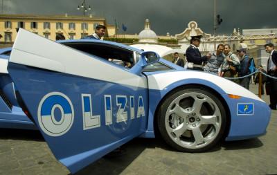 Italian Police Lamborghini 1