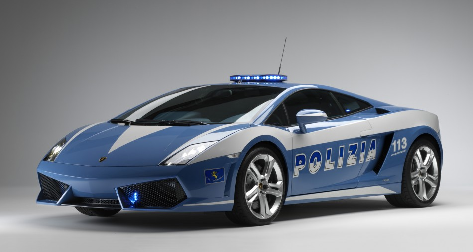 Italian Police Lamborghini 2