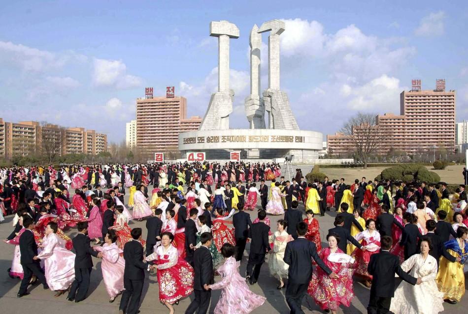 Pyongyang dance