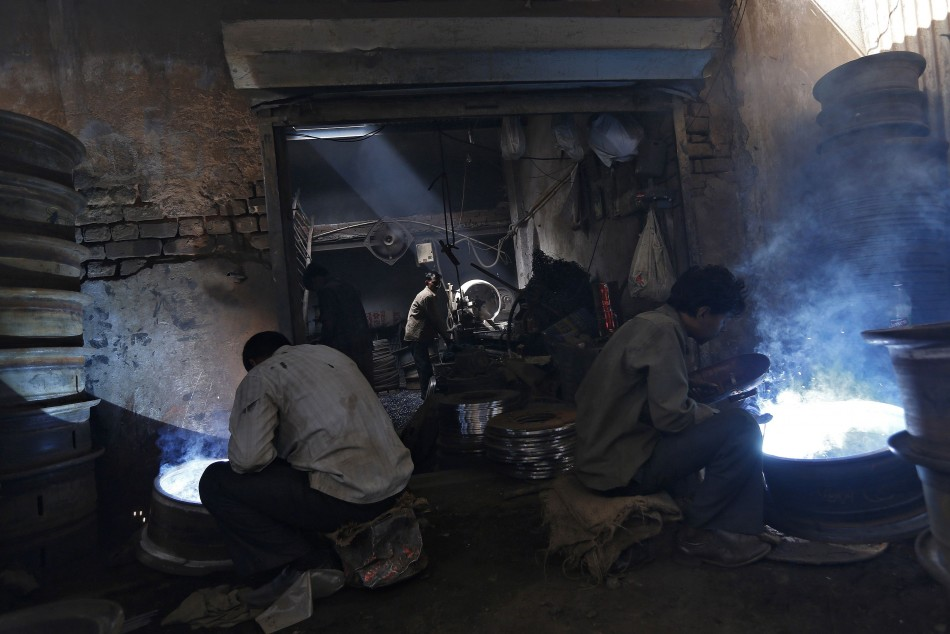 India's March factory output growth rises