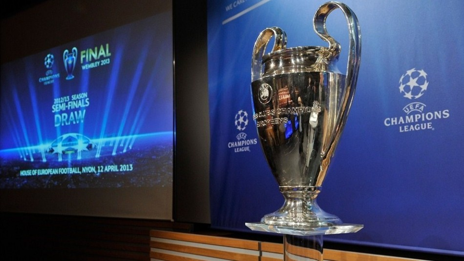 Champions League cup 2013