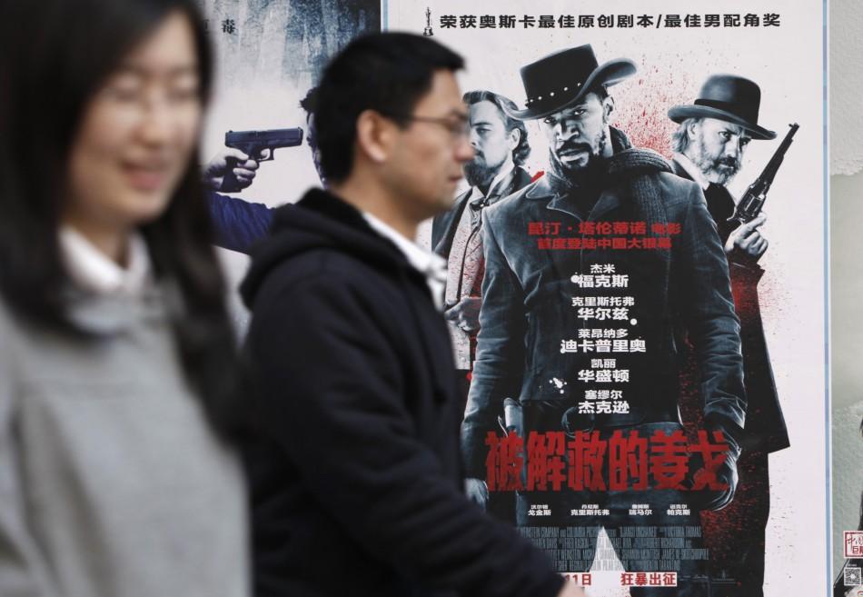 Django Unchained China