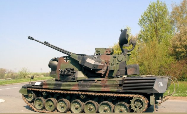 German-made Gepard 1A2