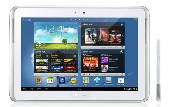 Galaxy Note 10.1 N8000 Receives Official Android 4.1.2 XXCMC4 Jelly Bean Update [How to Manually Install]