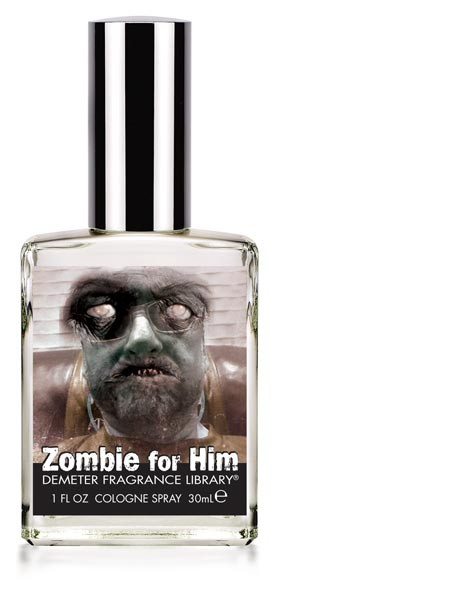 Zombie for him. Even the living dead want to smell nice.