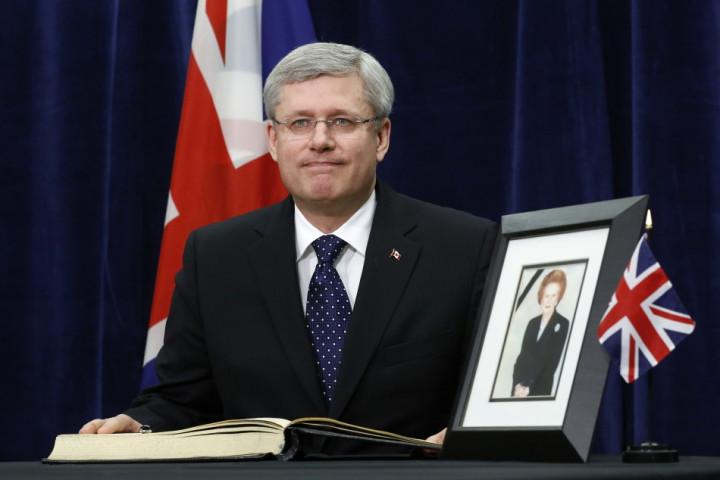 Stephen Harper, Canada PM