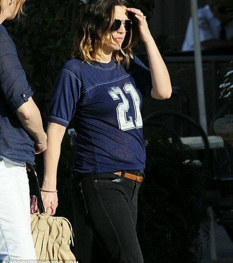 Drew Barrymore Pregnancy Goatee