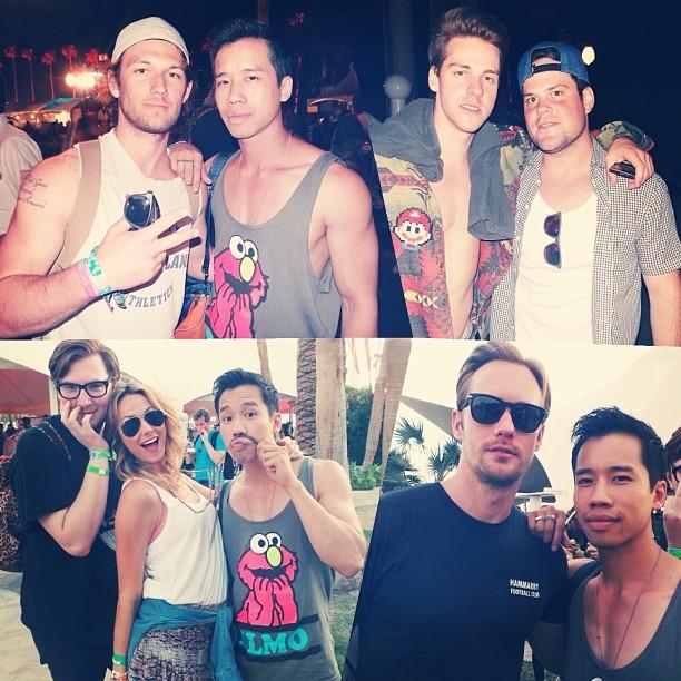 Celebrities Present at Coachella 2013