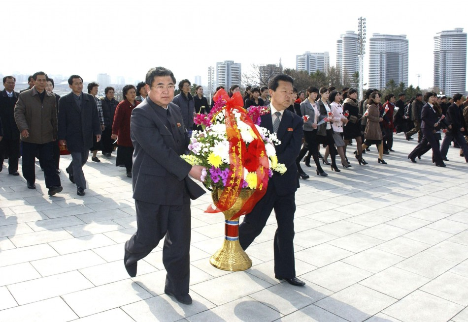 North Korea marks founder's birthday