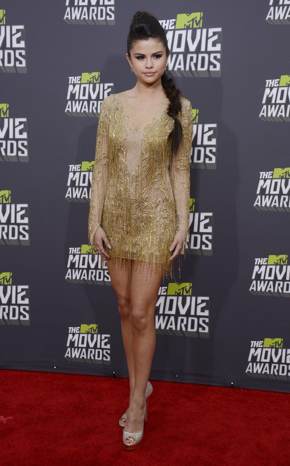Selena Gomez at MTV Movie Awards 2013