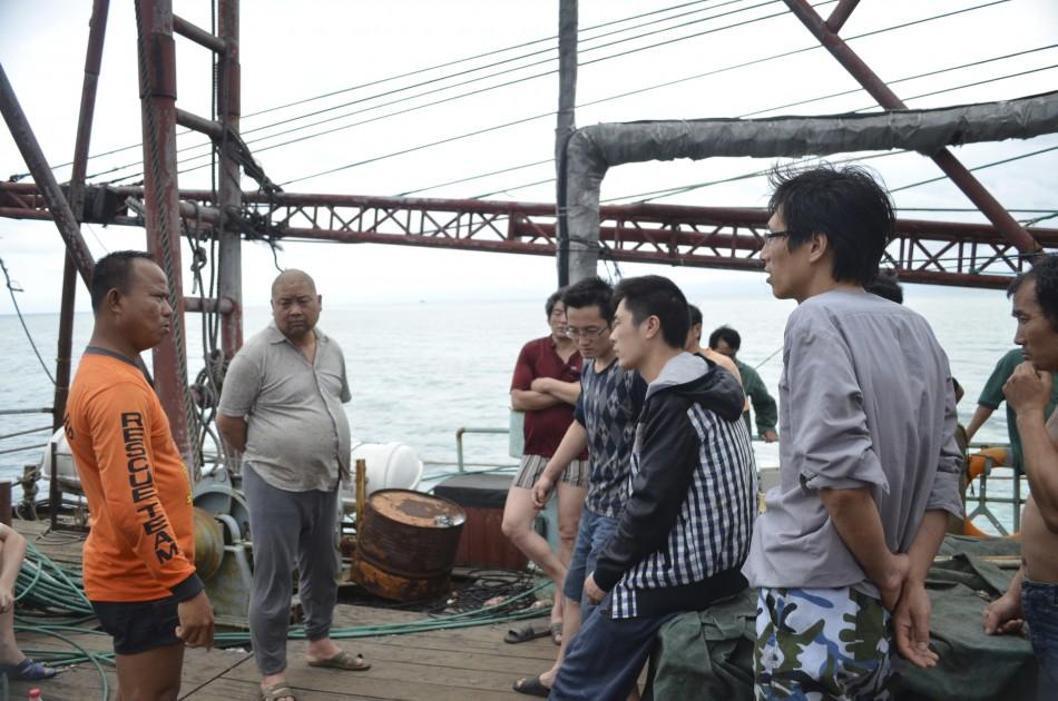 Chinese crew