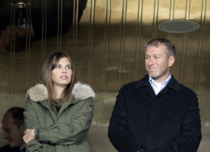 Chelsea owner Roman Abramovich and Dasha Zhukova