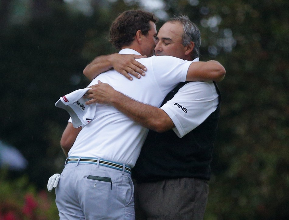 Adam Scott and Angel Cabrera