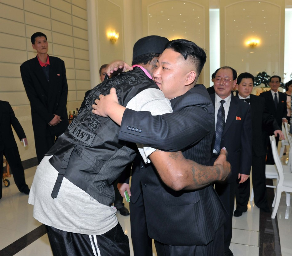 Dennis Rodman Kim Jong Un
