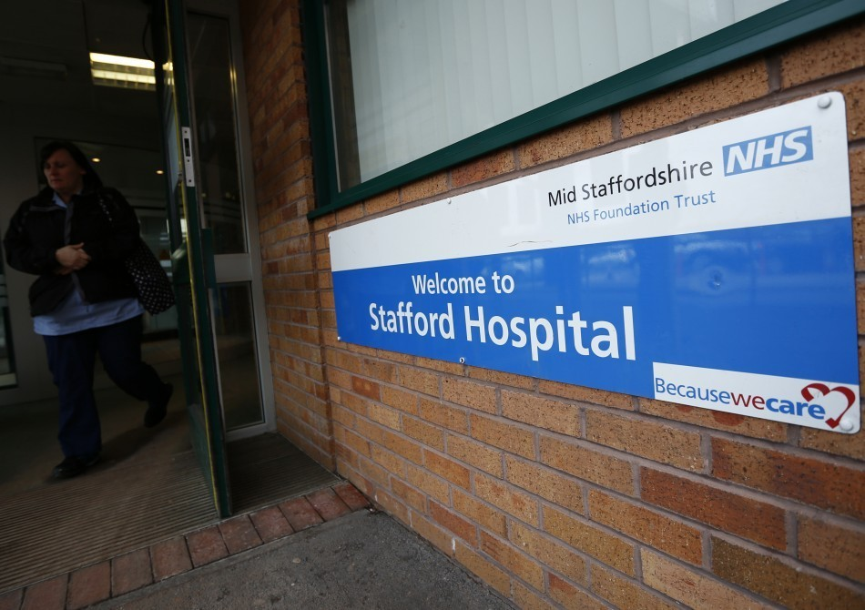 Mid Stafforsdhire was at the centre of the scandal where up to 1,200 patients died needlessly at Stafford hospital  (Reuters)