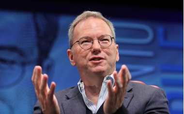 Eric Schmidt at Dive Into Mobile