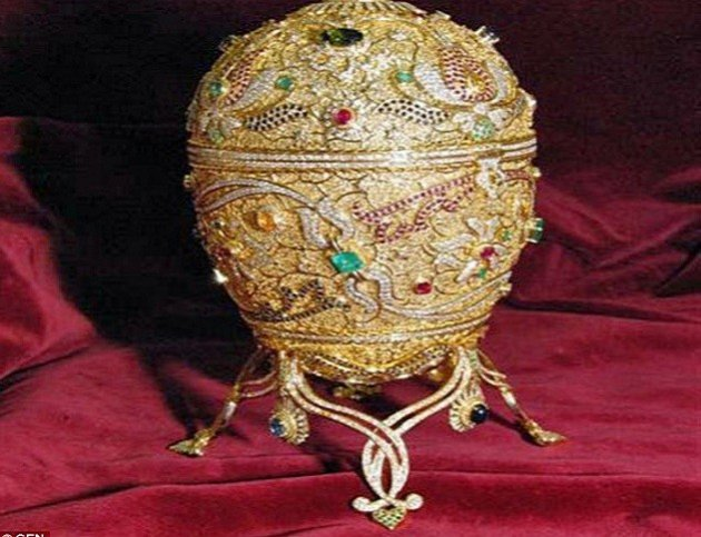 Found Faberge Egg