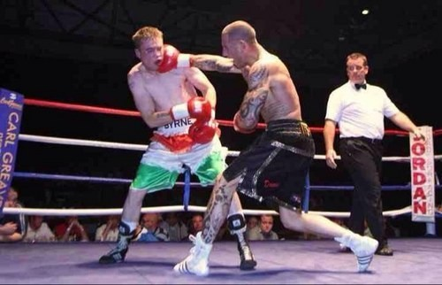 Boxer  Daniel Gerrard landed the deadly blow to the neck of 45-year-old Robert Hurdley following a drunken argument (Twitter)