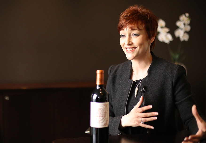 Stacey Golding, CEO and Co-Founder of Premier Cru (Photo: IBTimes UK)
