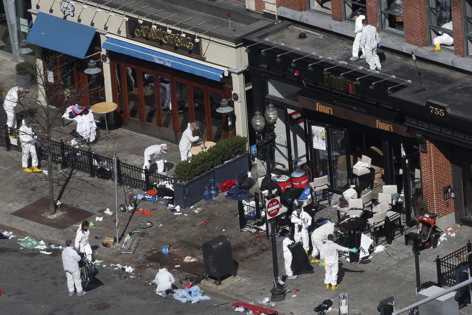 Boston Marathon Bombers 'Caught on Camera'