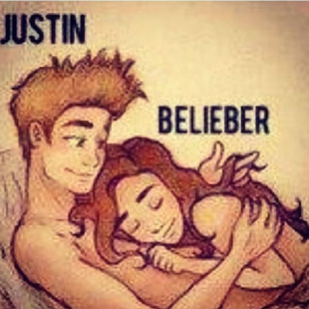 Justin Bieber Posts Cartoon Of Himself In Bed With A Fan