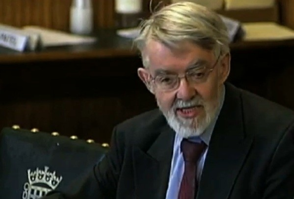Paul Flynn MP lambasting mandarins
