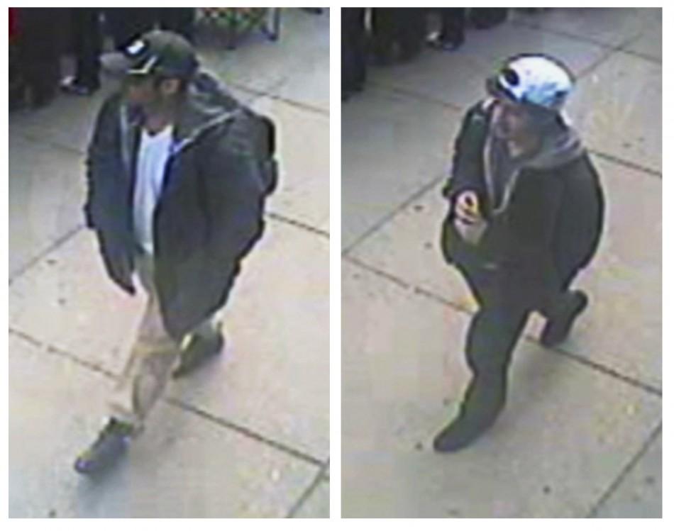 Boston marathon bombing suspects