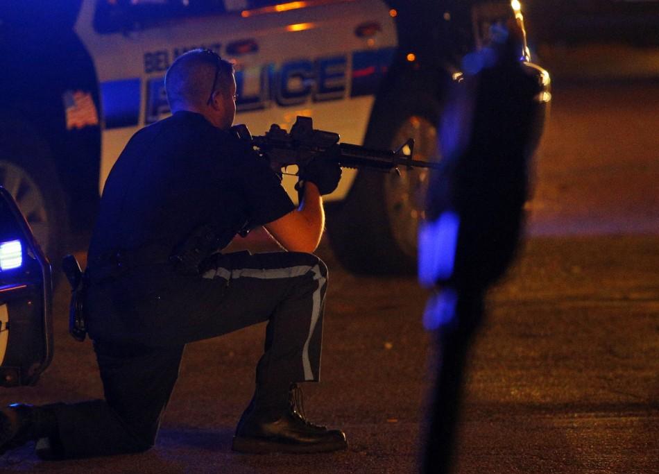 Boston bombing manhunt