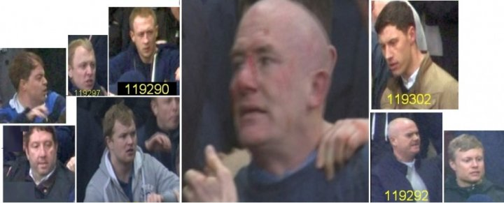 Do you know these men involved in Wembley disorder?
