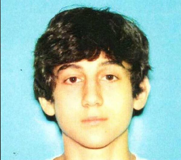 WANTED Dzhokhar Tsarnaev