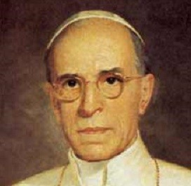 Pope Pius XII is accused of helping Adolf Hitler during World War II   (Wiki Comms)