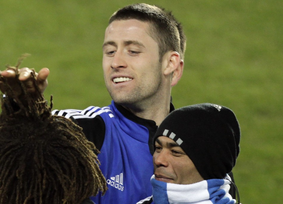 Gary Cahill and Ashley Cole