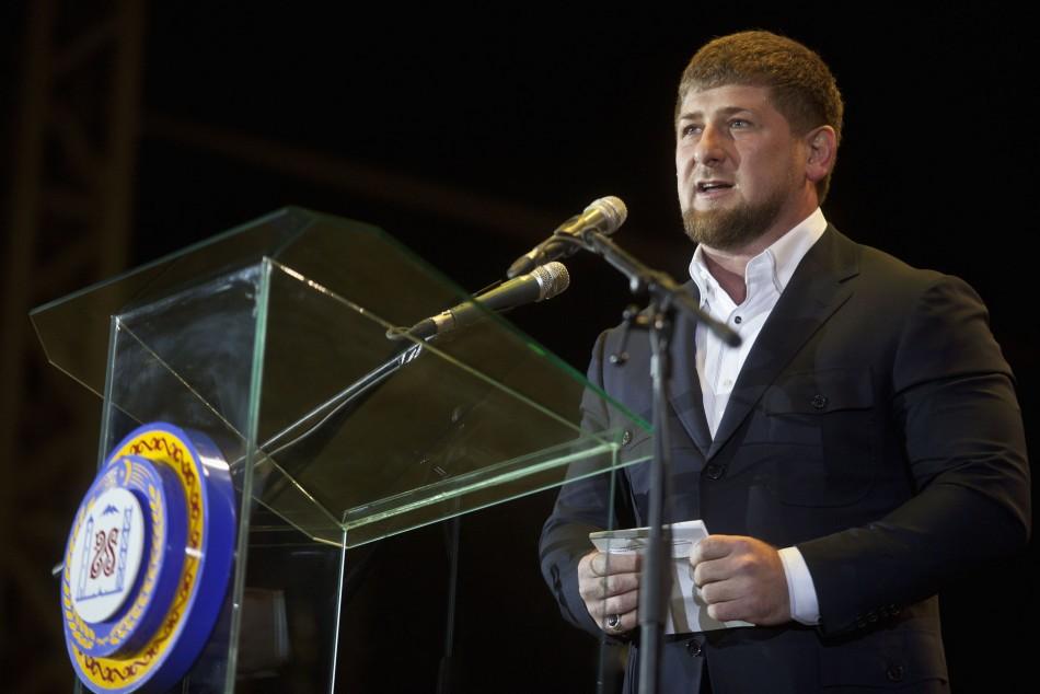 Chechen President Ramzan Kadyrov
