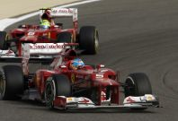 Fernando Alonso and Felipe Massa (Ferrari)