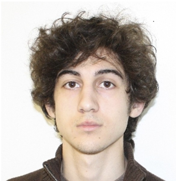 Boston Marathon Bombing suspect Dzhokar Tsarnaev.